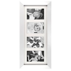 Gallery Frame - 4 Opening, White