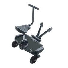 Bumprider Stroller Ride-On Board and Seat Attachment Black