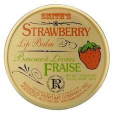 Baume à lèvres aux fraises − Pot en étain