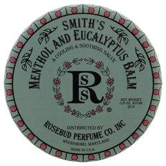 Baume à lèvres Rosebud Perfume Co. Smith en boîte – Menthe et eucalyptus