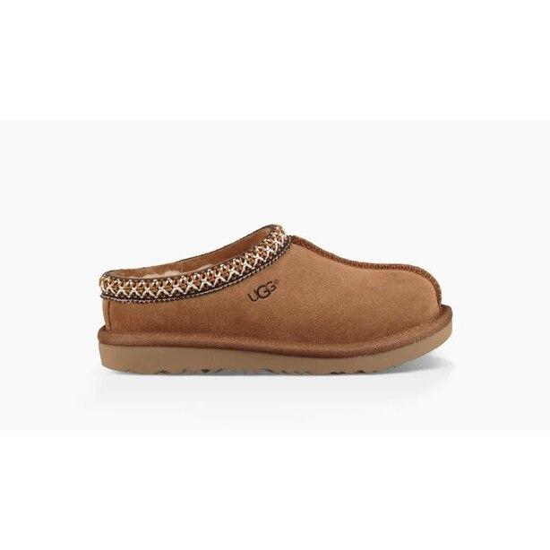 Kids' Tasman II Slippers, Chestnut Size 12