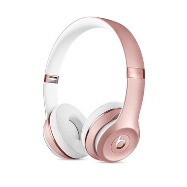 beats solo 3 wireless on ear headphones rose gold de beats by dre casques d 39 coute extra. Black Bedroom Furniture Sets. Home Design Ideas