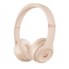 BEATS SOLO 3 WIRELESS ON-EAR HEADPHONES - MATTE GOLD