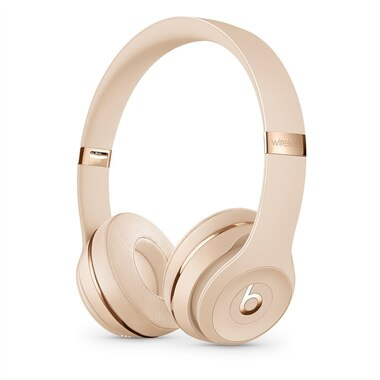 Beats Solo3 Wireless On-Ear Headphones - Satin Gold by Beats by Dre ... 89a2c03cbc645