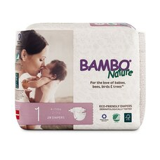 Bambo Nature® Eco-Friendly Diapers Size 1 28-Pack