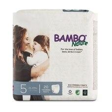 Bambo Nature Eco-Friendly Training Pants - Size 5 - 20 Pack