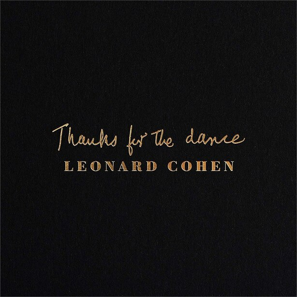 DISQUE VINYLE - Leonard Cohen -Thanks For The Dance
