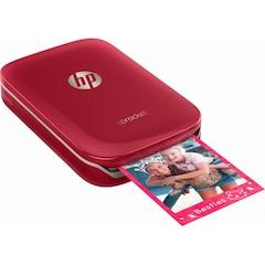 HP - Sprocket Photo Printer - Red