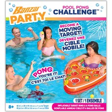 BANZAI PARTY POOL PONG CHALLENGE