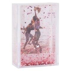 "Glitter Frame – Pink, 2"" x 3"""