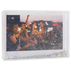"Glitter Frame – Silver, 4"" x 6"""