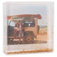 """Glitter Frame – Gold, 4"""" x 4"""""""