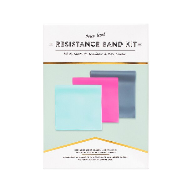 RESISTANCE EXERCISE BANDS SET OF 3