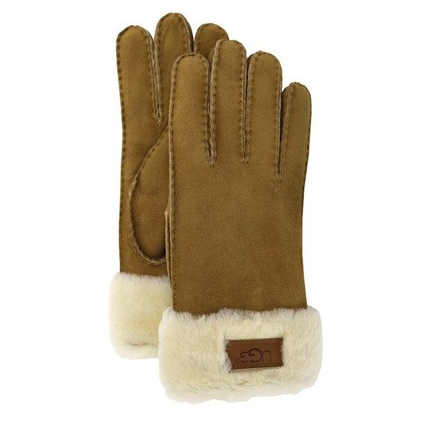 Ugg Women's Turn Cuff Glove - Chestnut, Large