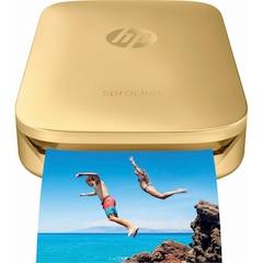 HP Sprocket Photo Printer - GOLD