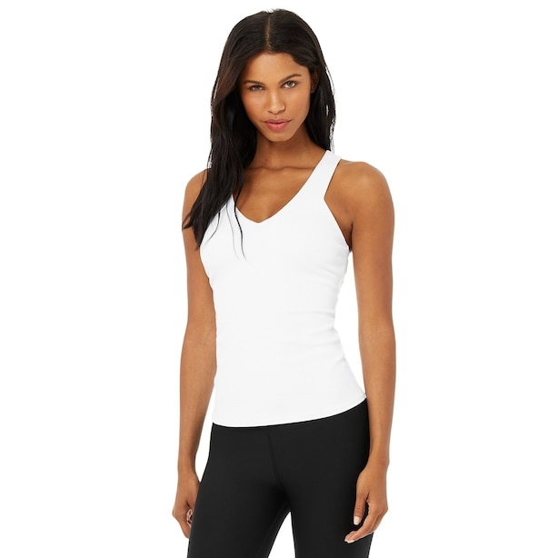 Elevate Tank White Small