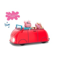 Peppa Pig Lights and Sounds Family Car