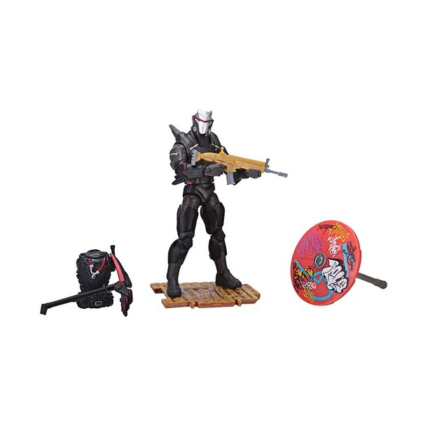Fortnite Collectible Figure Set Early Game Survival Kit