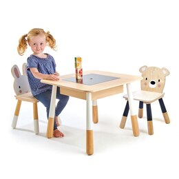 Tender Leaf Forest Table and Chairs