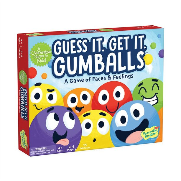 Peaceable Kingdom Guess It, Get It Gumball Game