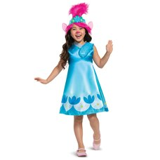 Disguise Kids Costume Trolls Movie 2 Poppy Size S