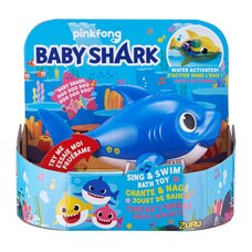 Baby Shark: Sing and Swim Bath Toy - Blue