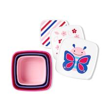 Skip Hop Zoo Snack Box Set-Butterfly