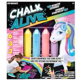 Chalk Alive Unicorn & Friends