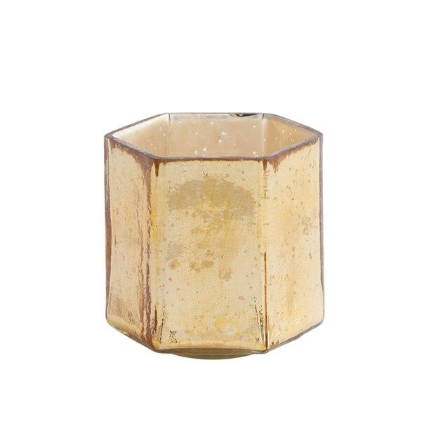 TRINITY GOLD VOTIVE CANDLE HOLDER LARGE