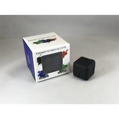 Spinning Cube - Black