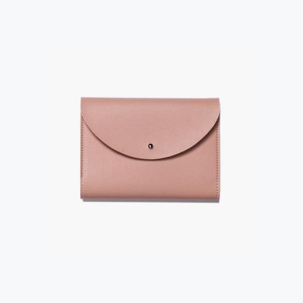 Small Minimalist Folio Organizer Blush