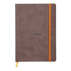 Rhodia Softcover Notebook Large Chocolate