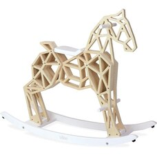 Wooden Diamond Rocking Horse