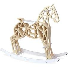 Wooden Diamond Rocking Horse