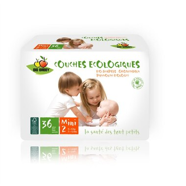 Bio Babby Eco Diapers MINI