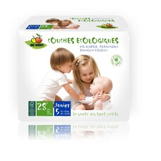 Bio Babby Eco Diapers JUNIOR 168 Diapers
