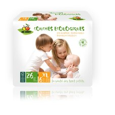 Bio Babby Eco Diapers XL 156 Diapers