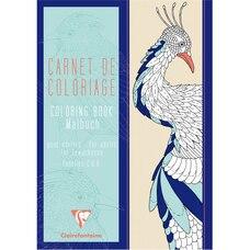 Carnet de coloriage pour adultes Oiseaux
