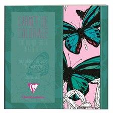 Carnet de coloriage pour adultes Papillons