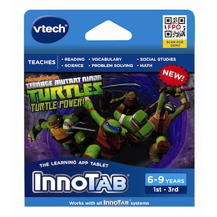 Innotab Software Teenage Mutant Ninja Turtles by VTech