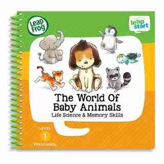 LeapFrog LeapStart Activity Book The World of Baby Animals