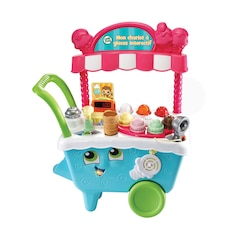 LEAPFROG SCOOP AND LEARN ICE CREAM CART - FRENCH VERSION