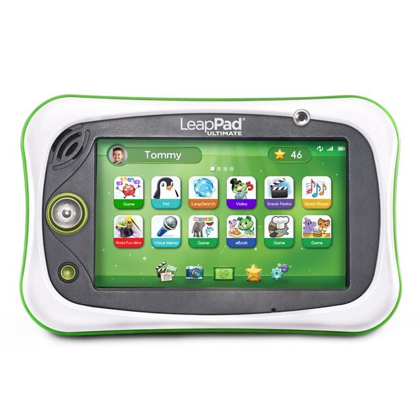 LEAPFROG LEAPPAD ULTIMATE READY FOR SCHOOL TABLET - GREEN