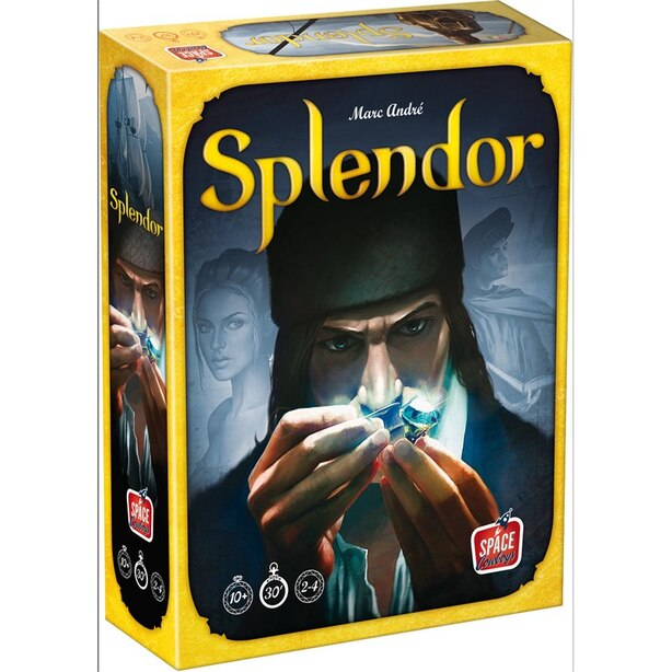 Board Game Splendor Gemstone Mining Strategy Game