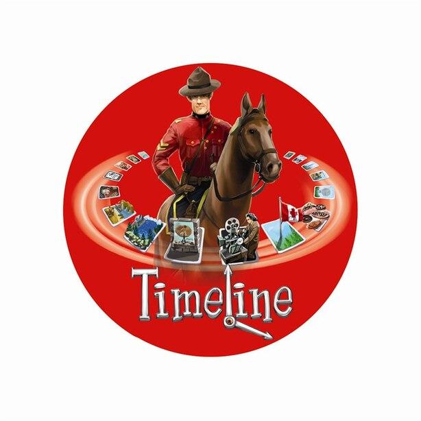 TIMELINE CANADA BOARD GAME