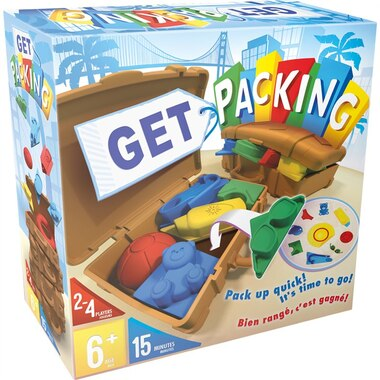 Board Game Get Packing Puzzle Game