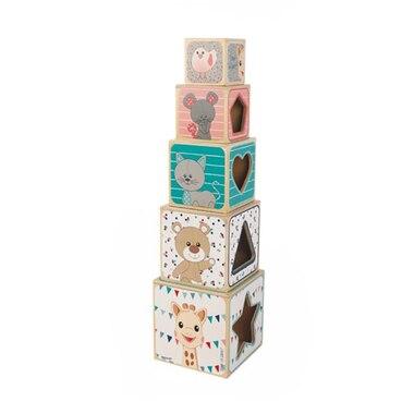 Sophie la Girafe® Wooden Pyramid