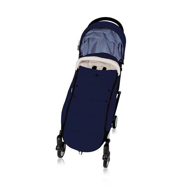 BabyZen YOYO+ Stroller Footmuff Navy Blue (Stroller and Frame Sold Separately)