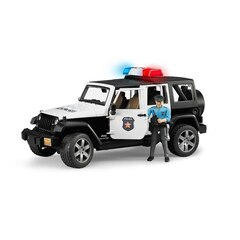 Bruder Jeep Wrangler Unlimited Rubicon Police Car with Policeman