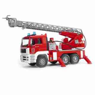 Bruder MAN Fire Truck W/ Sound And Light Module